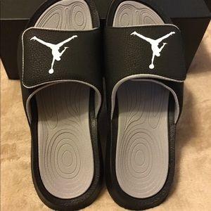 Men's Jordan's Jordan slides sandals sz 8 new
